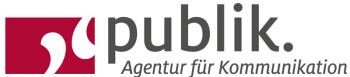 Publik. Agentur für Kommunikation GmbH - Logo