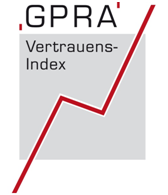 Logo GPRA-Vertrauensindex 2014