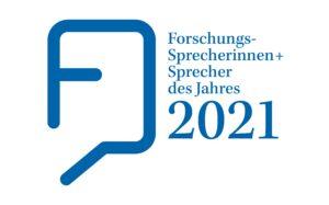 Forschungssprecherinnen und -sprecher des Jahres 2021